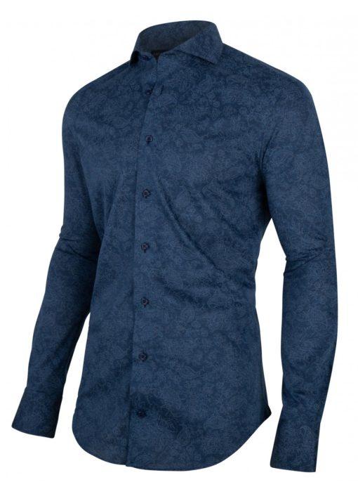 CAVALLARO NAPOLI Radio Shirt Dark Blue