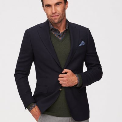 CAVALLARO NAPOLI Roma Jacket Donkerblauw