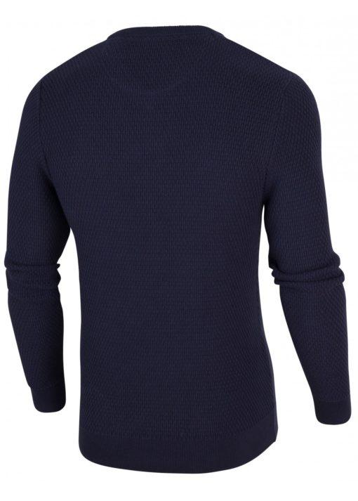 CAVALLARO NAPOLI Aranido V-Neck Pullover Dark Blue