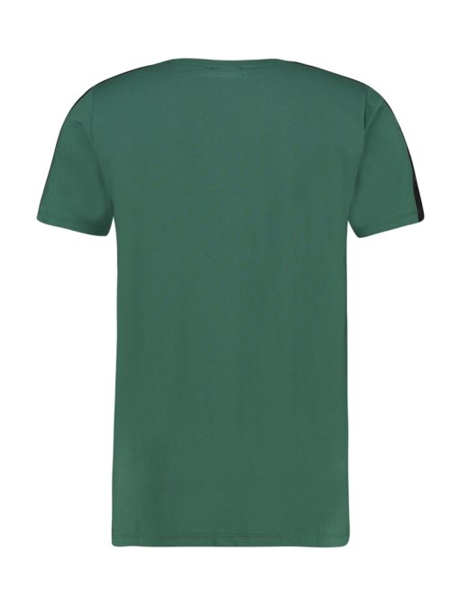 Purewhite Logo Tape T-shirt Green