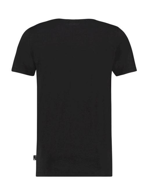 Purewhite Eagle Chest T-shirt Black