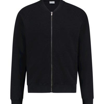 Purewhite Classic Melange Sweater Black