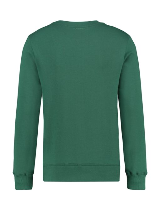 Purewhite Destination Unknown Sweater Green