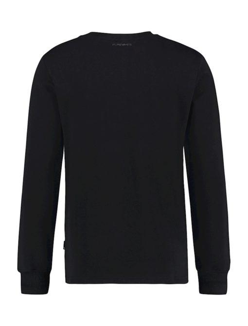 Purewhite Eagle Sweater Black