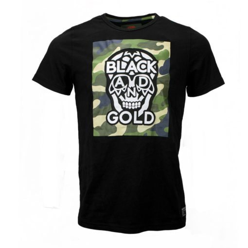 BLACK & GOLD Paracaidos Black