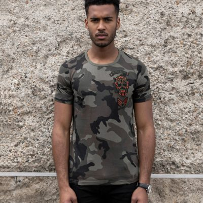 BLACK & GOLD Militarti Camo Army