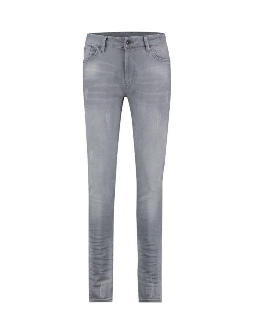 Purewhite The Jone 127 Fade Jeans Light Grey