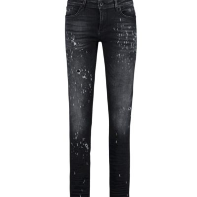 Purewhite The Jone 372 Distressed Black