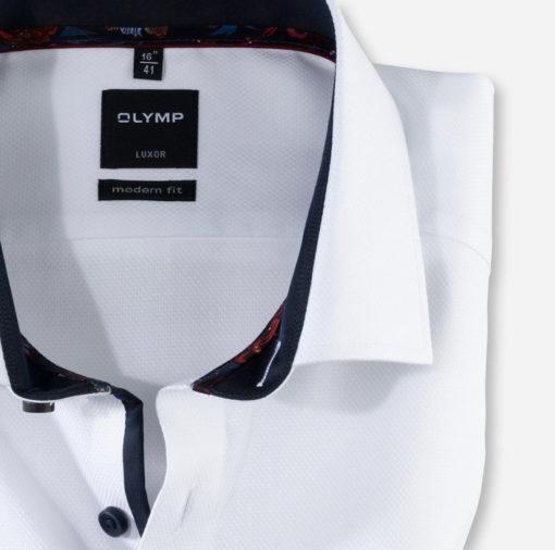 OLYMP Luxor, modern fit, Global Kent, Wit