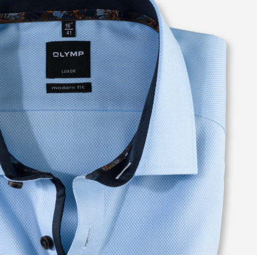 OLYMP Luxor, modern fit, Global Kent, Bleu
