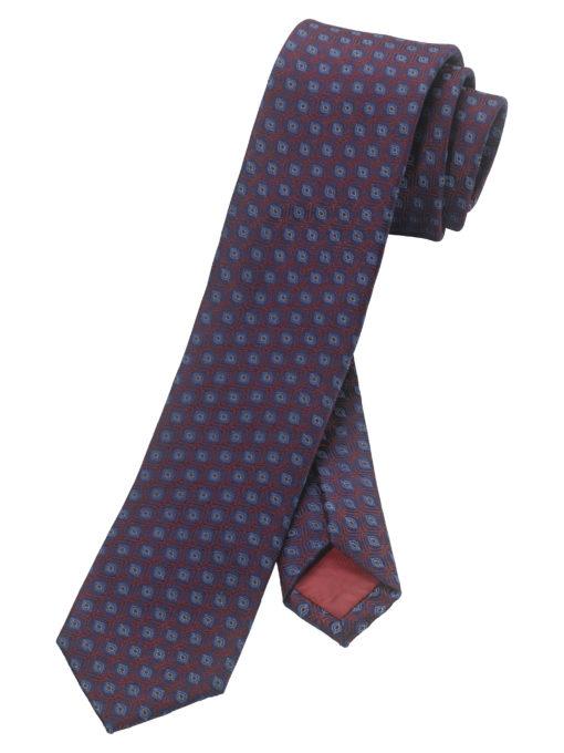 OLYMP Das, Slim (6 cm), Donkerrood