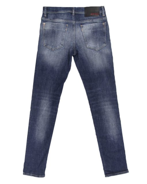ANTONY MORATO GILMOUR JEANS WITH MEDIUM WASH AND DISTRESSED