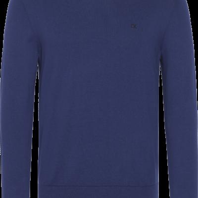 Calvin Klein Trui van katoenmix medieval blue