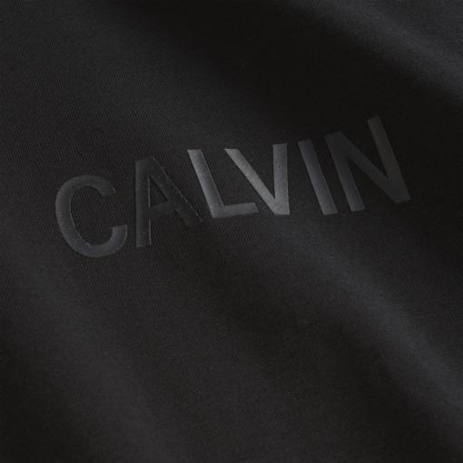 Calvin Klein Slim T-shirt met lange mouwen CK black