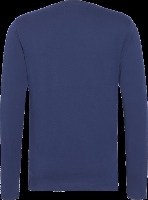 Calvin Klein Slim T-shirt met lange mouwen medieval blue/ night sky