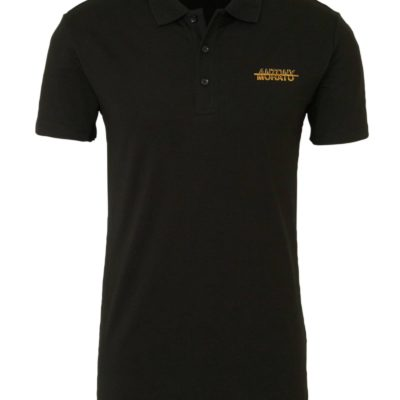 Antony Morato regular fit polo met logo zwart