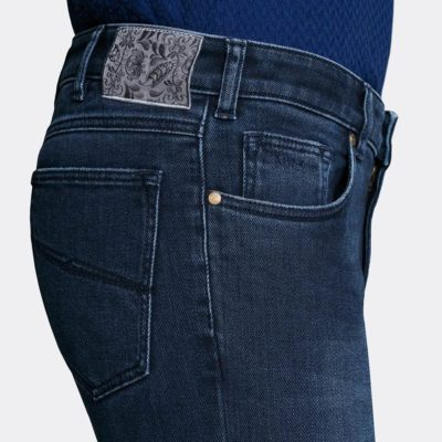 MMX Phoenix Used Denim Super-Stretch Donkerblauw