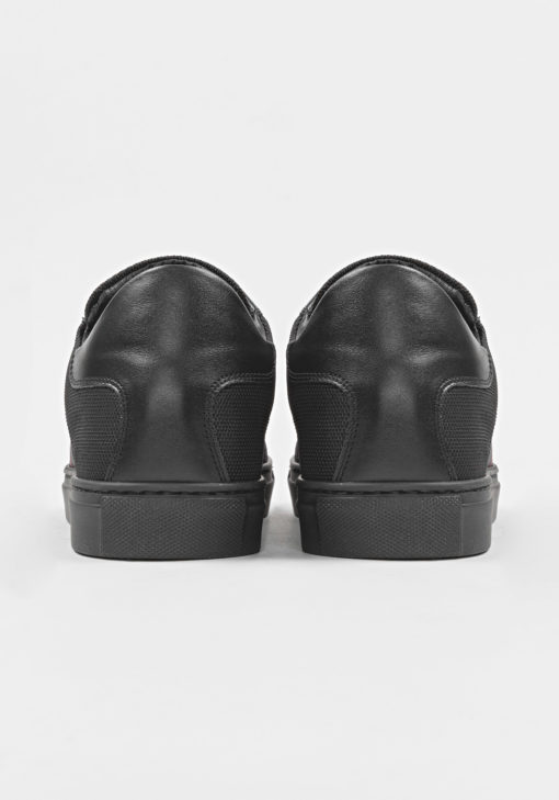 """SLIDE"" SNEAKER IN ABRASION-RESISTANT CORDURA FABRIC BLACK"