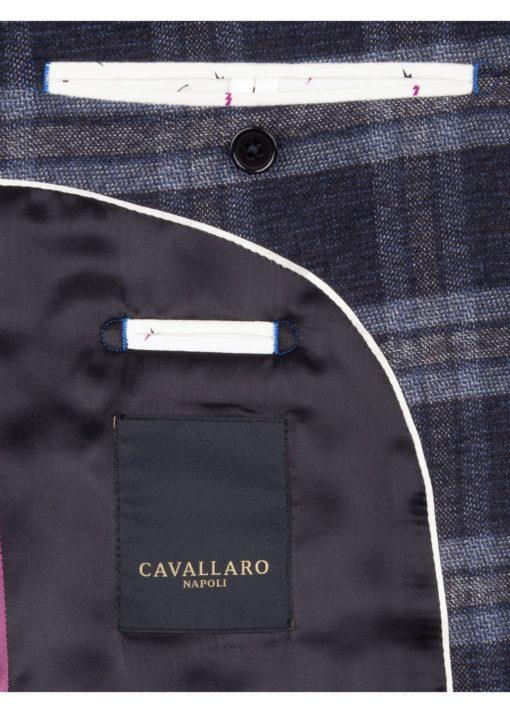 Cavallaro Napoli Udine jacket Blauw