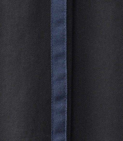 MMX Lupus-G Soft Cotton Chinos with Tuxedo Stripes Black