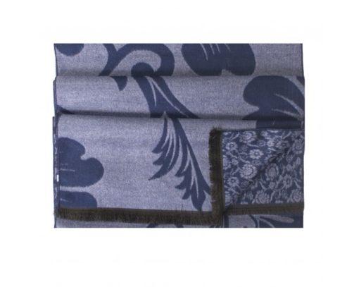 Tresanti Viscose sjaal, tweezijdig met bloem