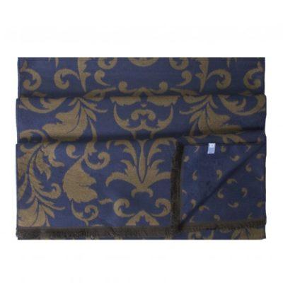 Tresanti Viscose sjaal, tweezijdig perzisch bruin