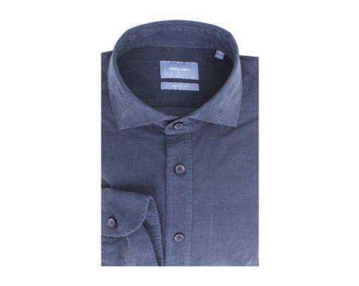 TRESANTI Corduroy overhemd blauw Tailored Fit