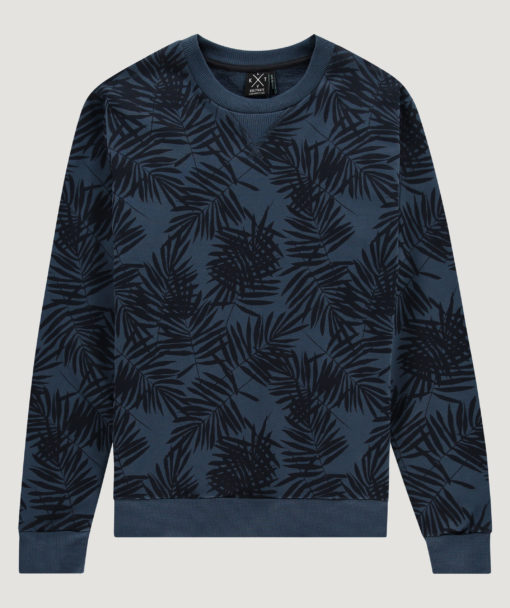 Kultivate Sweater Garden Party Insignia Blue