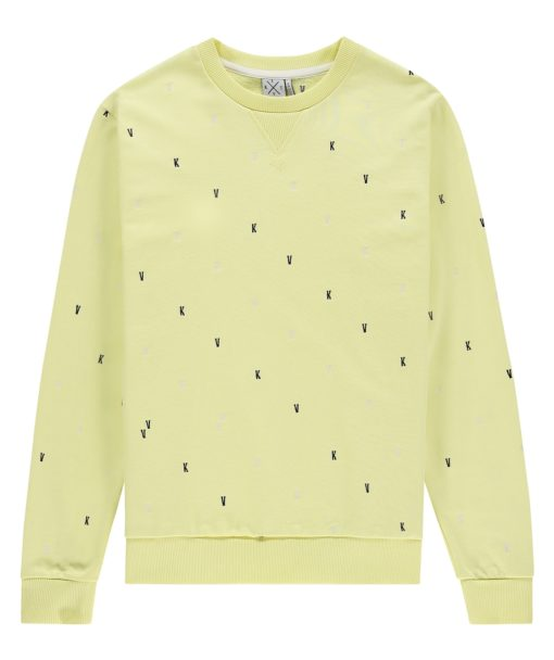 Kultivate Sweater LIME KV Pale Lime