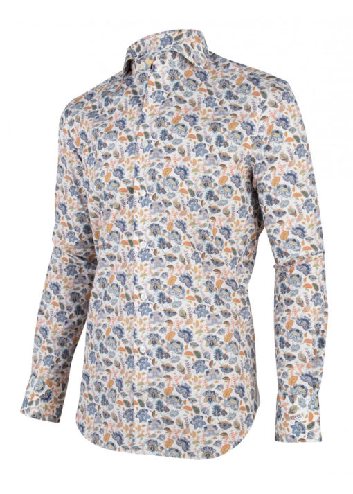 Cavallaro Napoli Amando Shirt Wit