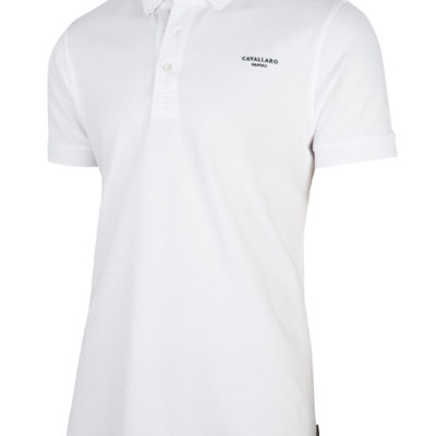 Cavallaro Napoli Basic Polo Optical White