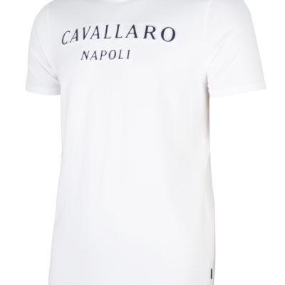 Cavallaro Napoli Miraco Tee Optical White