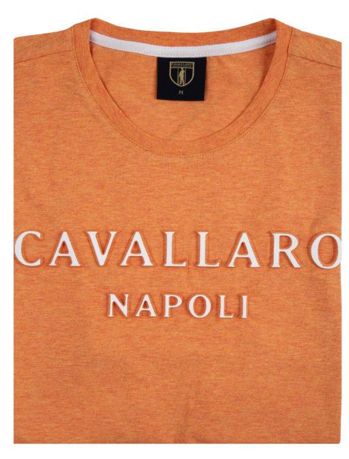 Cavallaro Napoli Miraco Tee Oranje