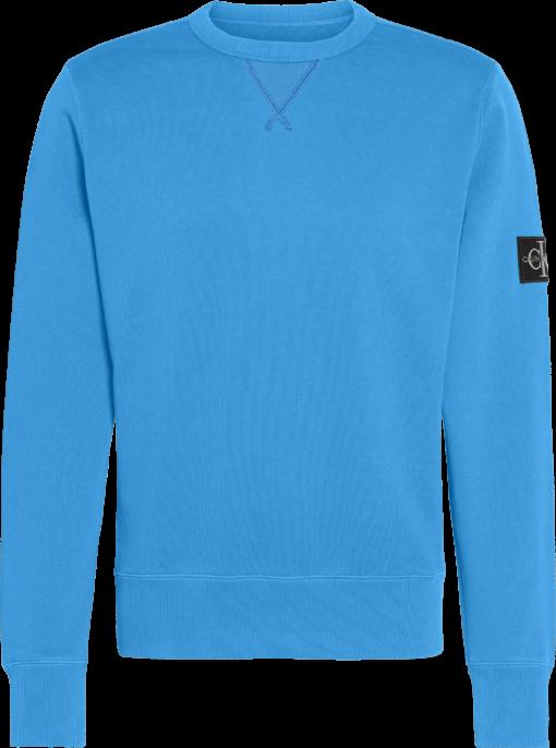 Calvin Klein Sweatshirt van biologisch katoen COASTAL BLUE