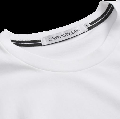 Calvin Klein Slim T-shirt van biologisch katoen BRIGHT WHITE