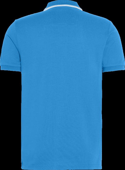Calvin Klein Slim stretch piqué polo COASTAL BLUE/WHITE