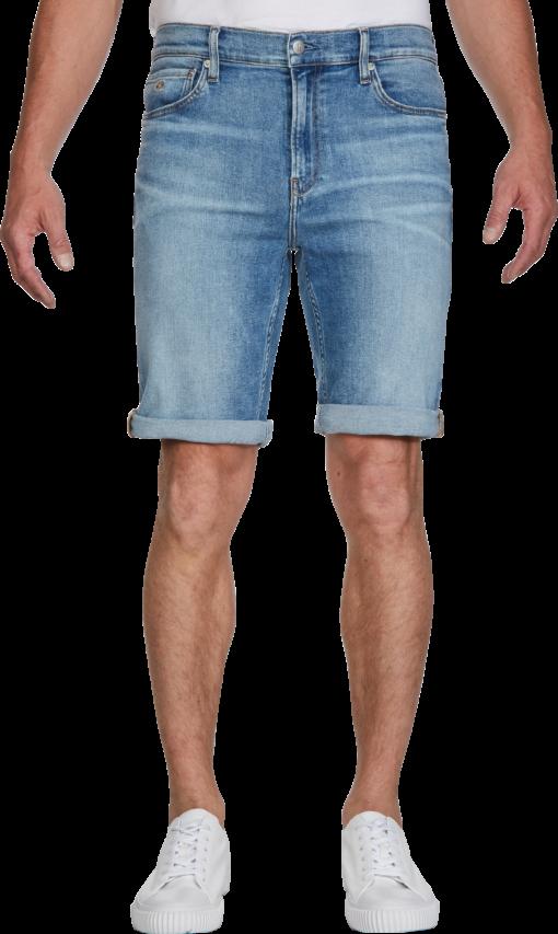 Calvin Klein Slim denim korte broek DA001 LIGHT BLUE