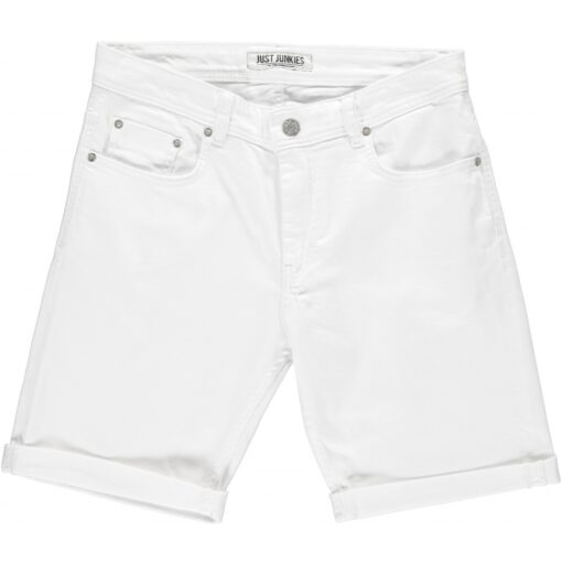 Just Junkies Mike Shorts White