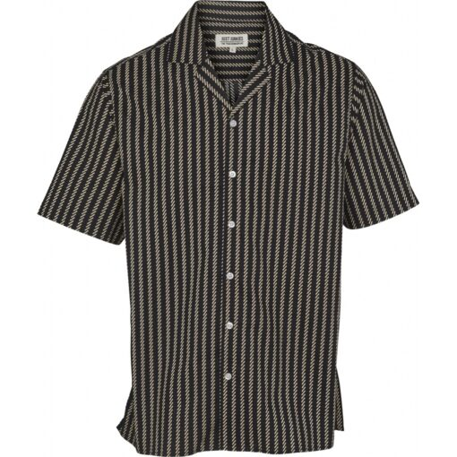 Just Junkies Ross Shirt Black