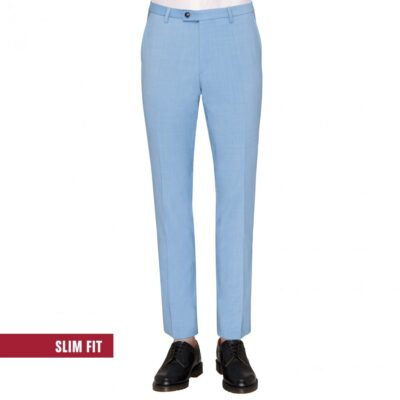 Club of Gents Kostuum pantalon CEDRIC licht blauw