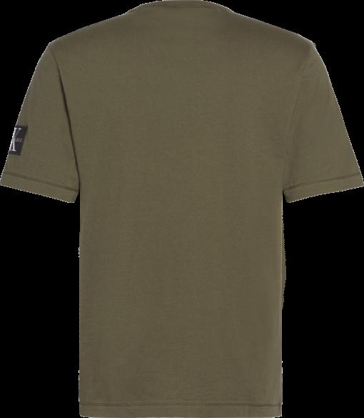 Calvin Klein Monogram T-shirt met embleem deep depths