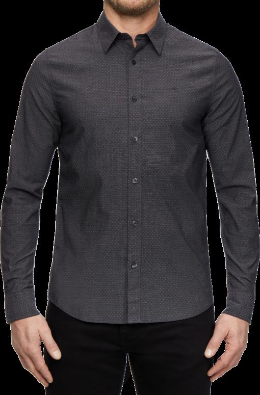 Calvin Klein Jeans heren overhemd BLACK