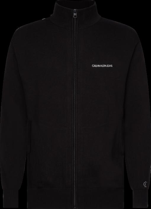 Calvin Klein Katoenmix Vest met Rits CK BLACK