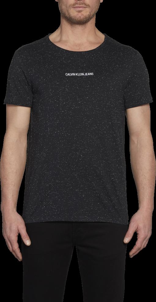 Calvin Klein T-shirt borstlogo zwart