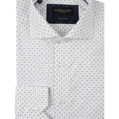 Cavallaro Napoli Gabriele Shirt Wit