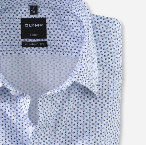 OLYMP Luxor, modern fit, New Kent, Bleu