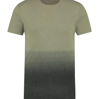 Purewhite Gradient T-shirt Green