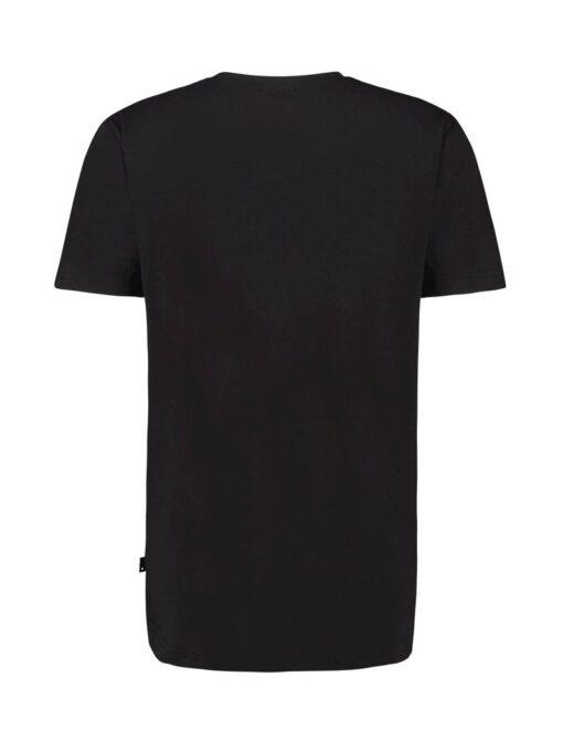 Purewhite Wave Logo T-shirt Black
