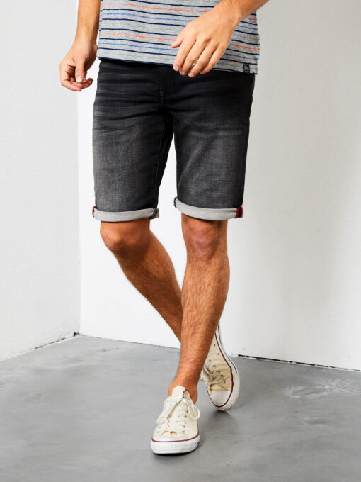 Petrol Industries Jackson Slim Fit short Black stone