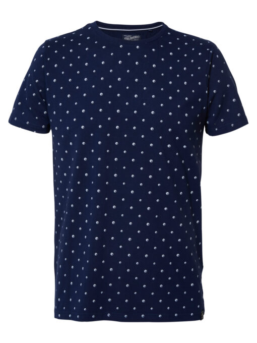 Petrol Industries All-over print T-shirt Deep Capri